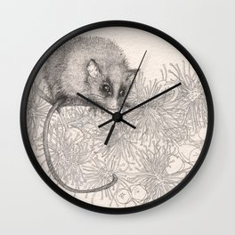 In the pollen Wall Clock