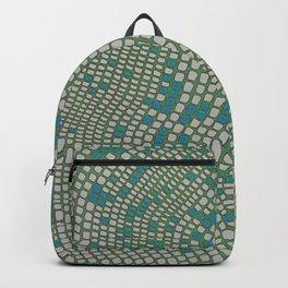 Mosaic- moss green Backpack