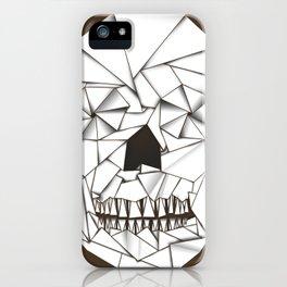 Origami Skull iPhone Case