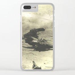 Beach Landscape Clear iPhone Case