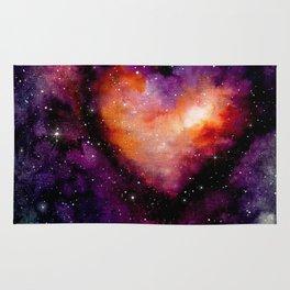 Valentine Galaxy Heart 03 Rug