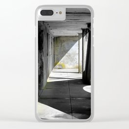 Void Abstraction Clear iPhone Case