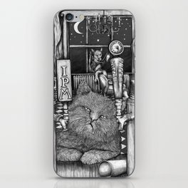 Cats at 3am iPhone Skin