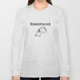 Neandertallica #2 Long Sleeve T-shirt
