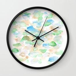 150725 My Happy Bubbles 36 Wall Clock