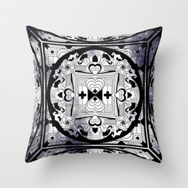 SPACE CUBE Throw Pillow