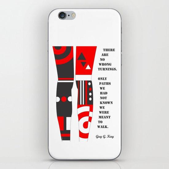 WALK THE PATH iPhone & iPod Skin