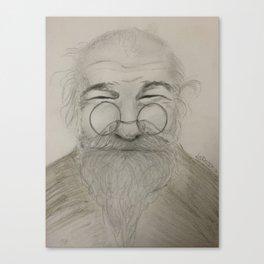 Happy Grandpa Canvas Print