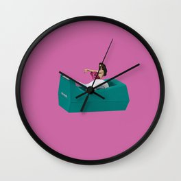 don't get attached! Wall Clock