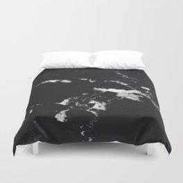 Black Marble #3 #decor #art #society6 Duvet Cover