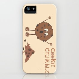 Cookie Crumble iPhone Case