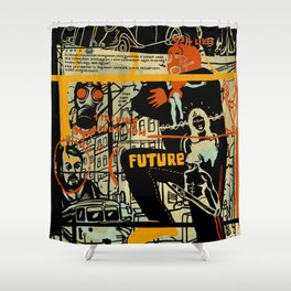 Freud III. Shower Curtain