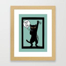 Now I am here Framed Art Print