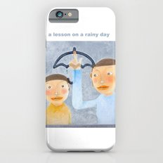a lesson on a rainy day iPhone 6s Slim Case