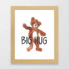 Big Hug Framed Art Print