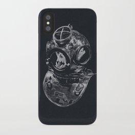 Macaque Diver iPhone Case
