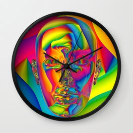 Inward Refraction Wall Clock