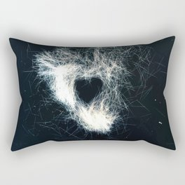 Brush Dust LuvHeart Symbol Rectangular Pillow
