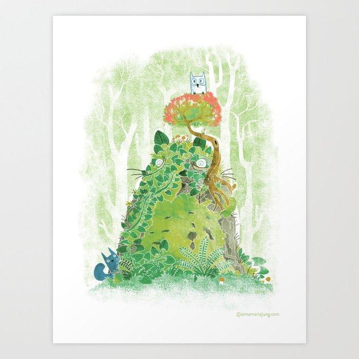The Friendly Spirit Art Print