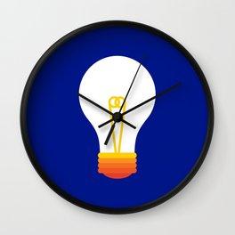 Pop Bulb Wall Clock