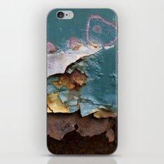 Teal Peel II iPhone & iPod Skin