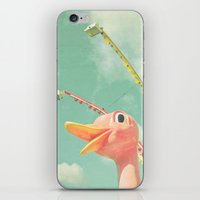 ostrich iPhone & iPod Skins featuring Ostrich by Cassia Beck
