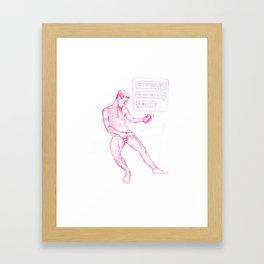 FAG 13 Framed Art Print