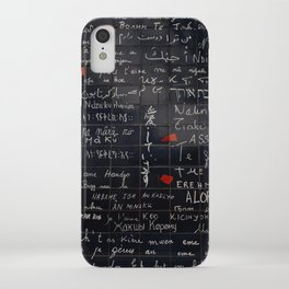 """I love you"" Wall iPhone Case"