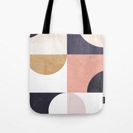 Geometric Moontime 1 Tote Bag