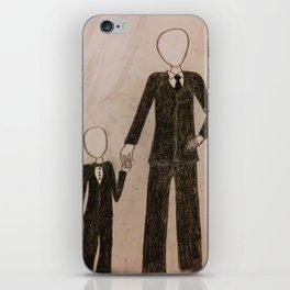 Slenderman & Child iPhone Skin