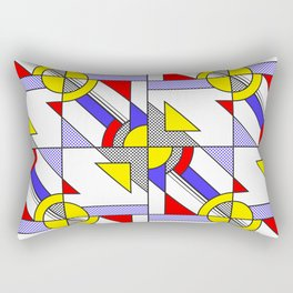 Pop Art Pattern Rectangular Pillow