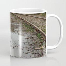 Railroad Puddles - Seattle, WA Coffee Mug