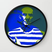 picasso Wall Clocks featuring Picasso by Art Pop Store