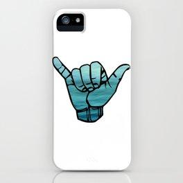 Ocean Bluse Hang Loose iPhone Case