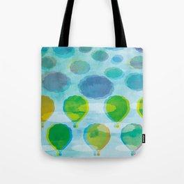 Air Balloons Tote Bag