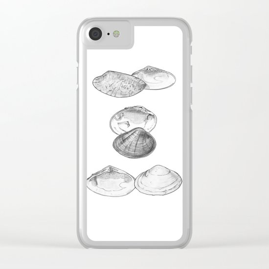 Bivalvia serie 1 Clear iPhone Case