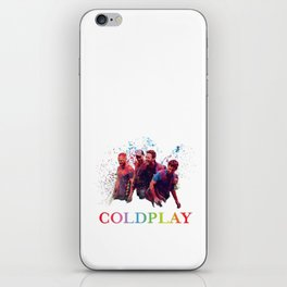 COLD PLAY iPhone Skin