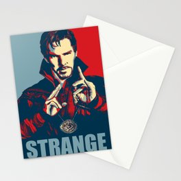 Obey Strange doctor Stationery Cards