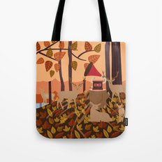 Music in the woods Tote Bag
