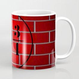 peron brick wall Coffee Mug