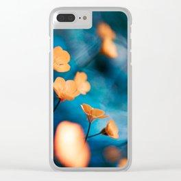 Breezy Buttercups Clear iPhone Case