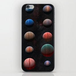 Planets : Hot Jupiter Exoplanets iPhone Skin
