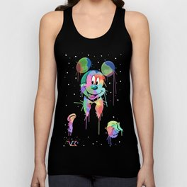Drippy Mickey Unisex Tank Top