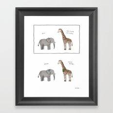 Much Better  Framed Art Print