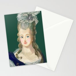 Marie Antoinette portrait Stationery Cards