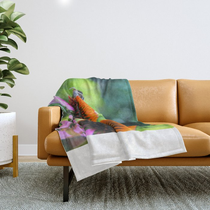 Nature's Worker Throw Blanket