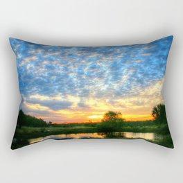 November East Texas Sunrise Rectangular Pillow