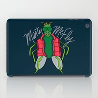 marty mcfly iPad Cases featuring Marty McFly by Chelsea Herrick
