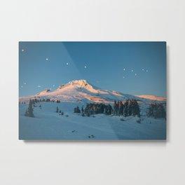 Mt. Hood Sunset Metal Print