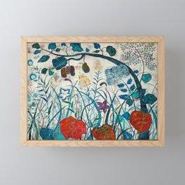 nature【Japanese painting】 Framed Mini Art Print